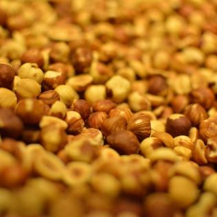 Hazelnuts from Italy.