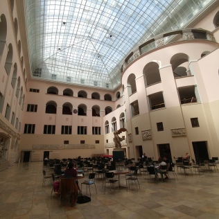 Study hall in the main building.